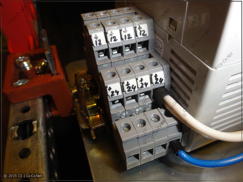 Кросс-модуль для блоков питания +12 и +24 вольта