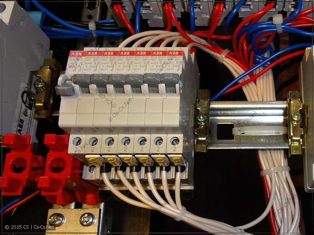 Переключатели для управления освещением: ручной режим или с ПЛК