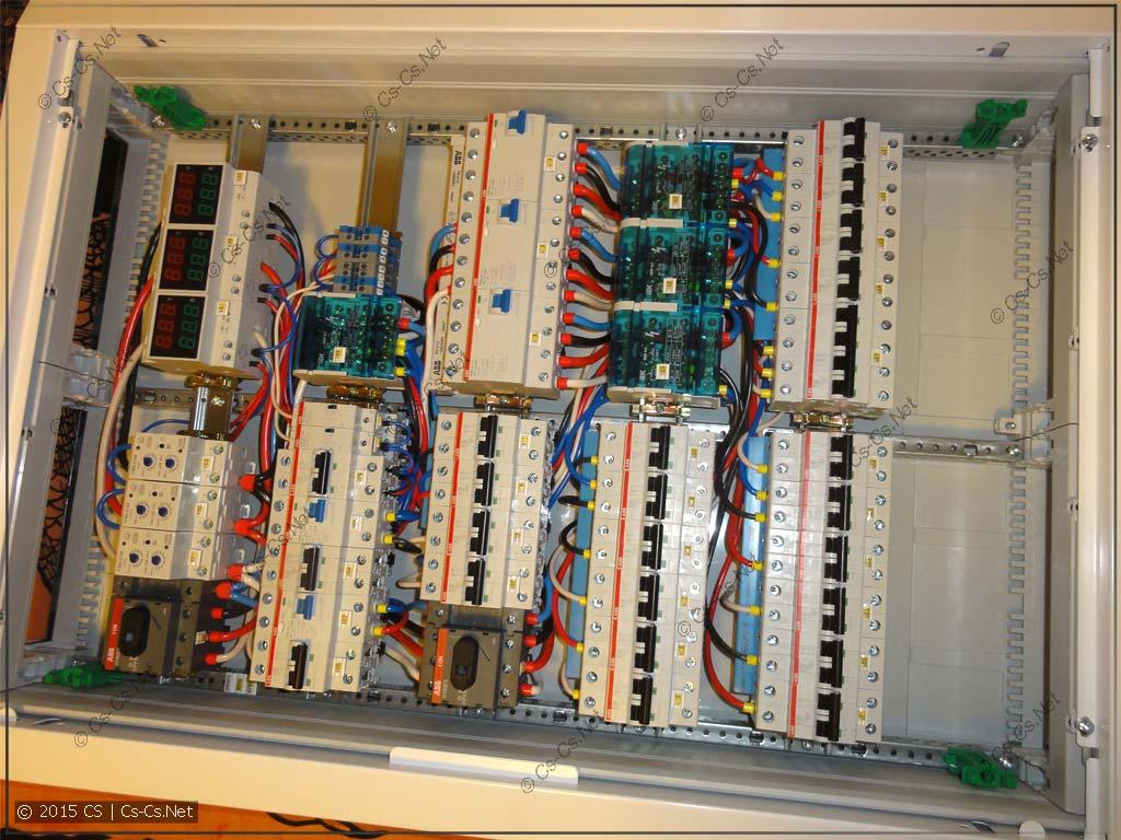 Электрический щит квартиры на базе серии AT/U