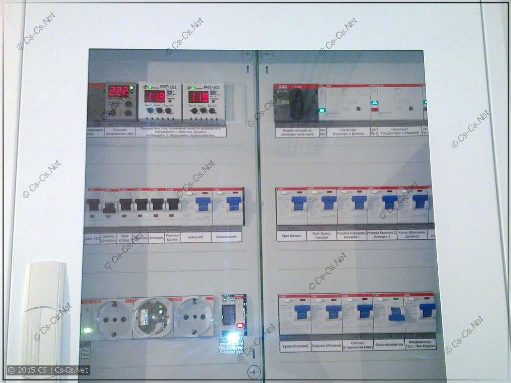 Прозрачная дверь для щитов AT/U