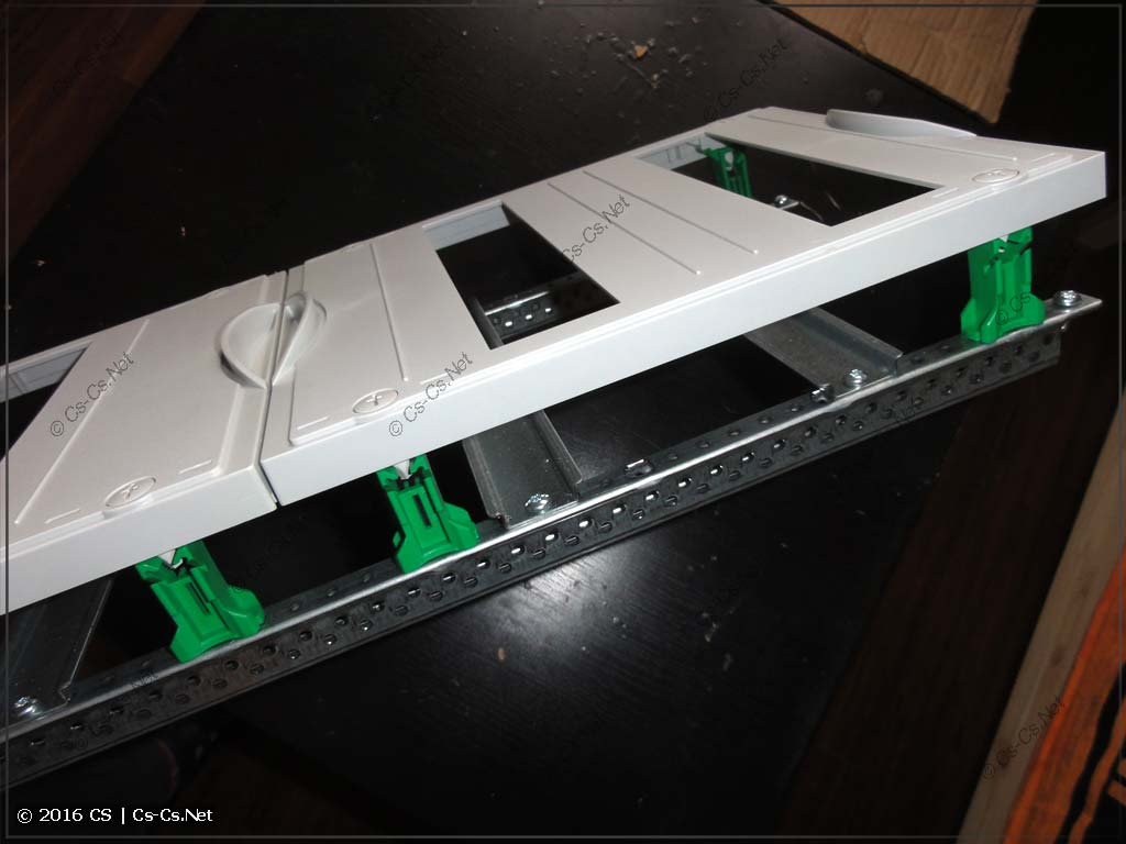 EDF-панель на базе низких стоек (из щита AT/U)