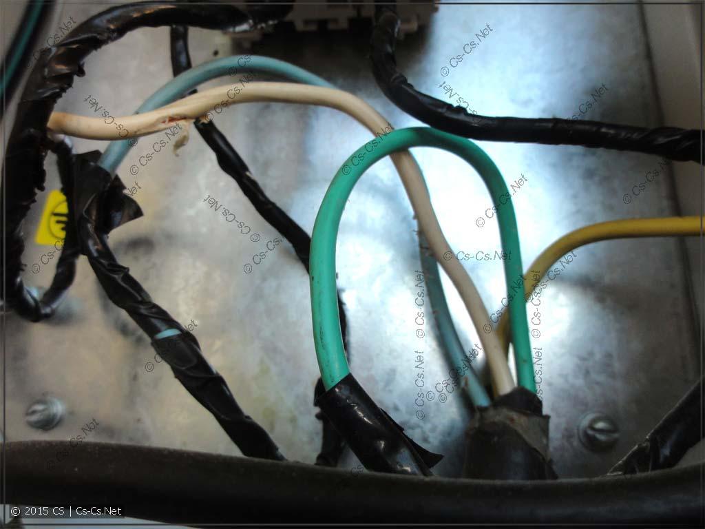 Подключение вводного кабеля в щитке на столбе