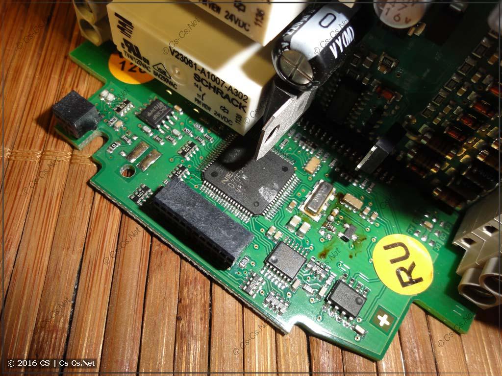 Логическое реле ABB CL (Eaton Easy) внутри (центральный процессор)