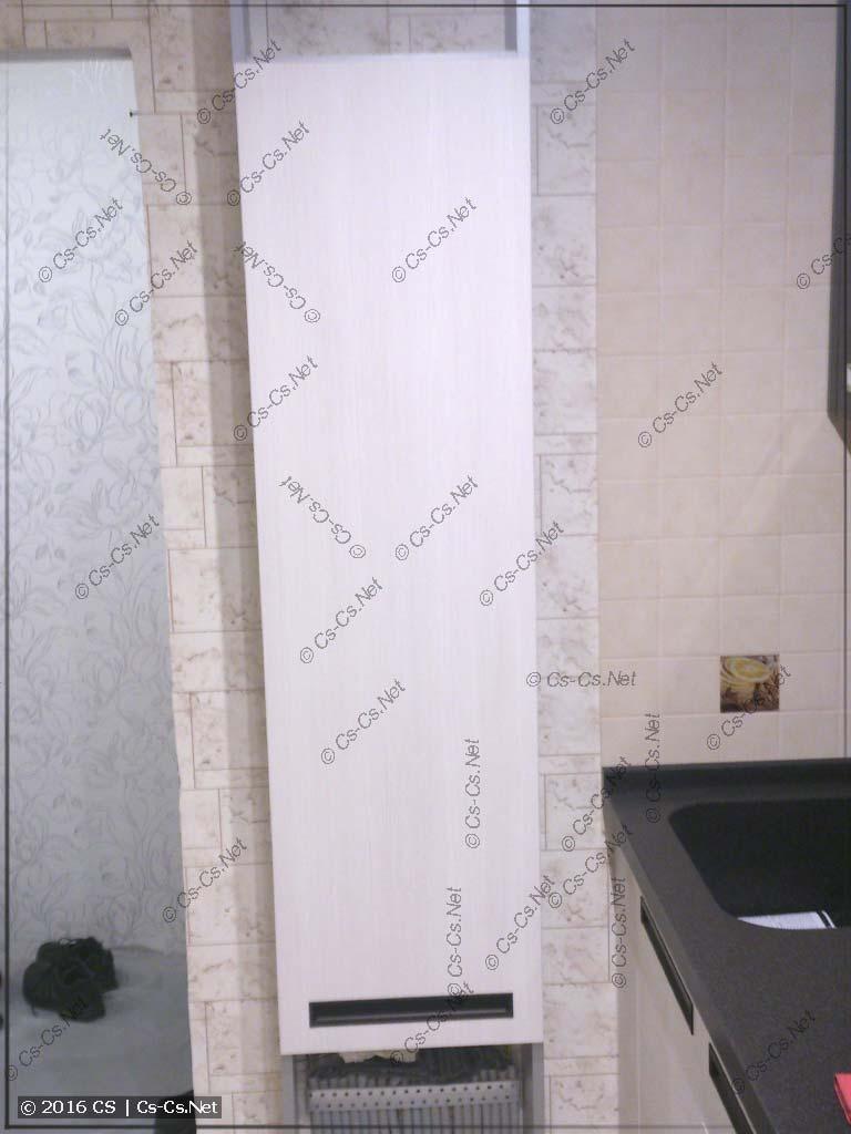 Щит квартиры на базе EDF-профиля в шкафчике