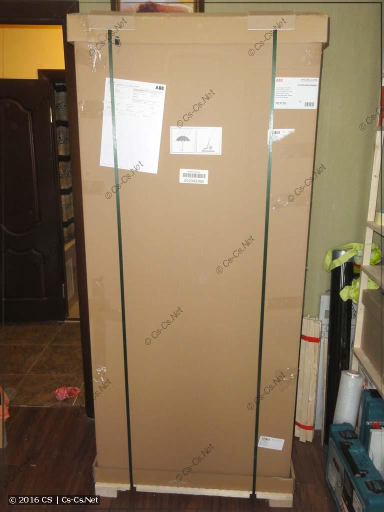 Шкаф ABB серии TwinLine - упаковочная коробка