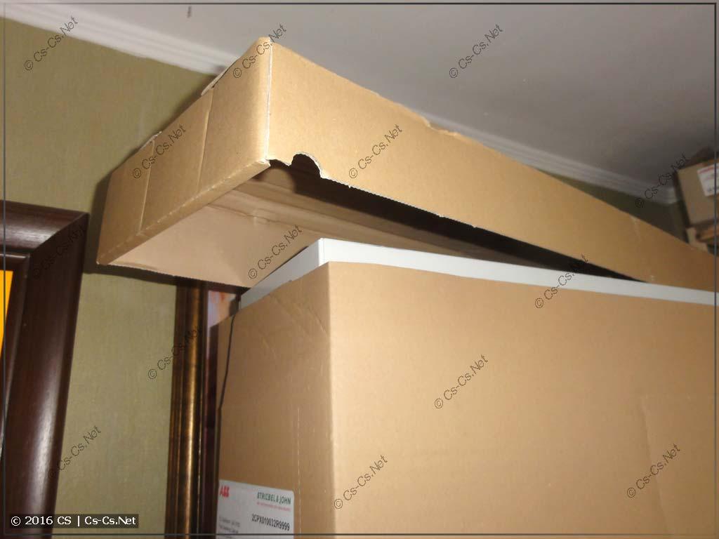 Шкаф ABB серии TwinLine - упаковочная крышка