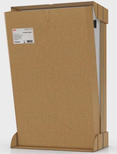 Шкаф ABB серии TwinLine - пример использования упаковки