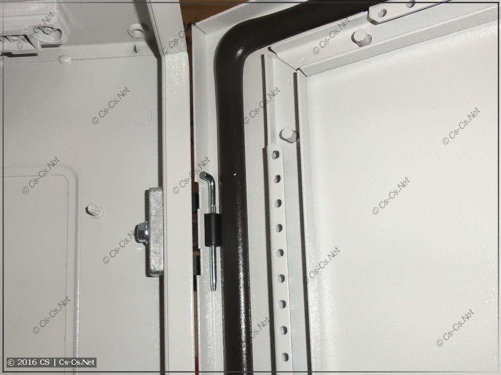 Крепления двери шкафа серии TwinLine