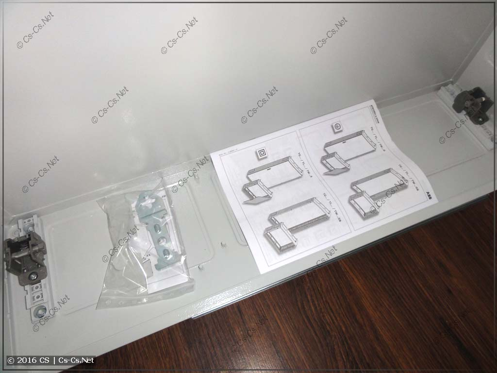 Комплектация шкафа TwinLine: инструкция и петли