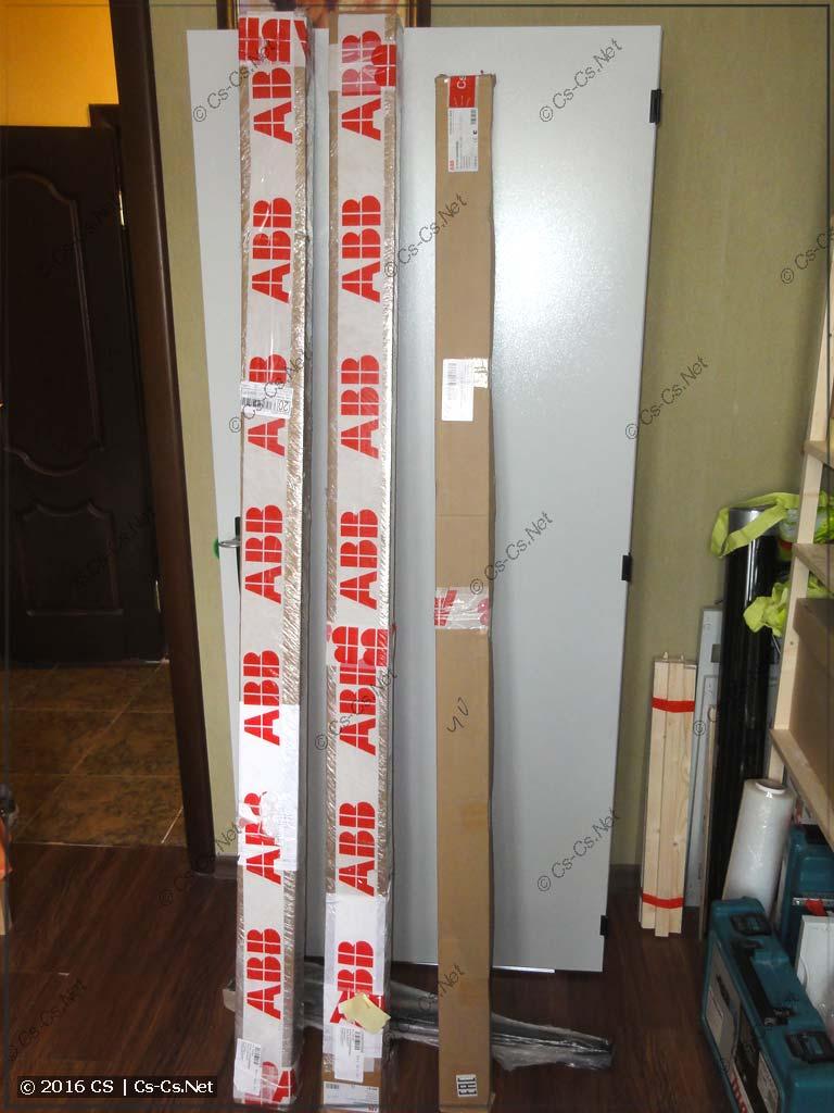 WR-рамы и защита от прикосновения для шкафов TwinLine