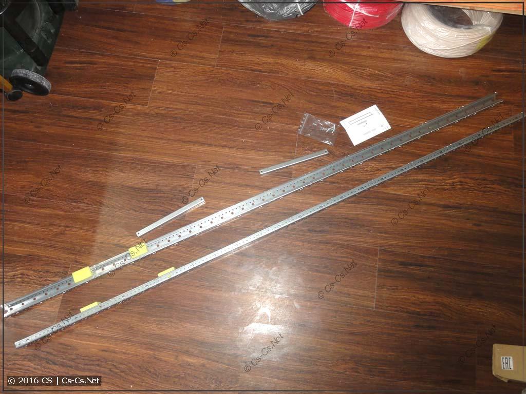 Комплект WR-рамы для шкафа TwinLine
