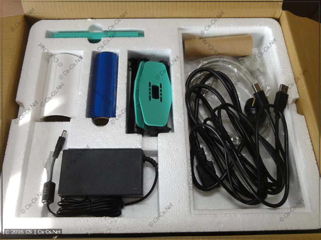 Термотрансферный принтер GODEX G500 (комплект поставки)