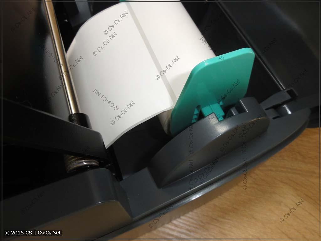 Установка этикеток в GODEX G500