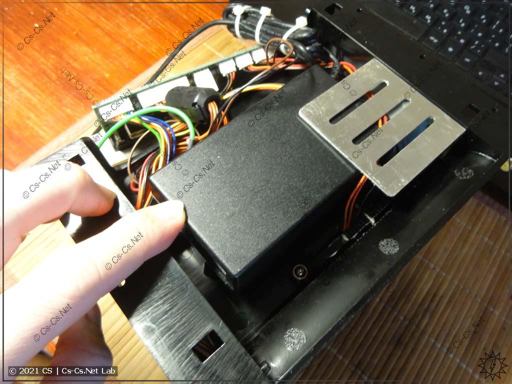 Пробная примерка блока питания принтера G500 внутрь его же самого