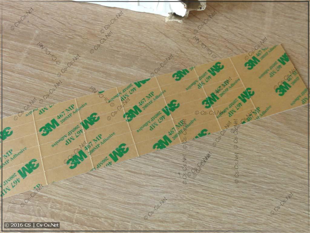Носители для HTP500: Прямоугольные наклейки