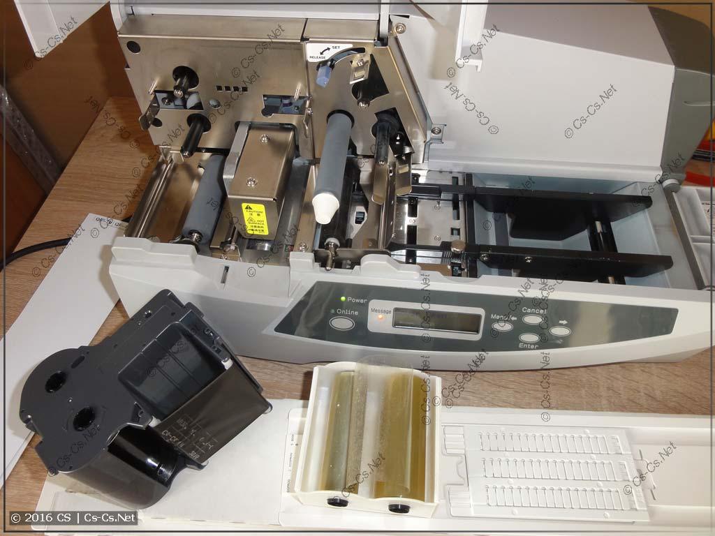 Принтер HTP500: Подситема печати