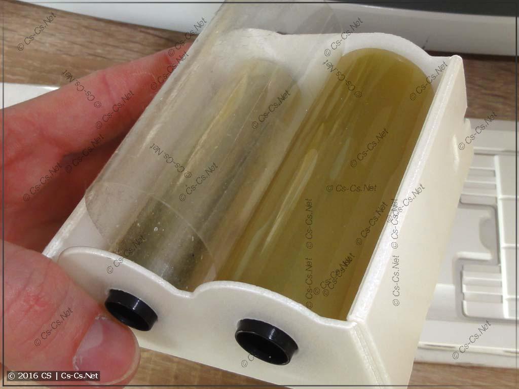 Принтер HTP500: Чистящая кассета