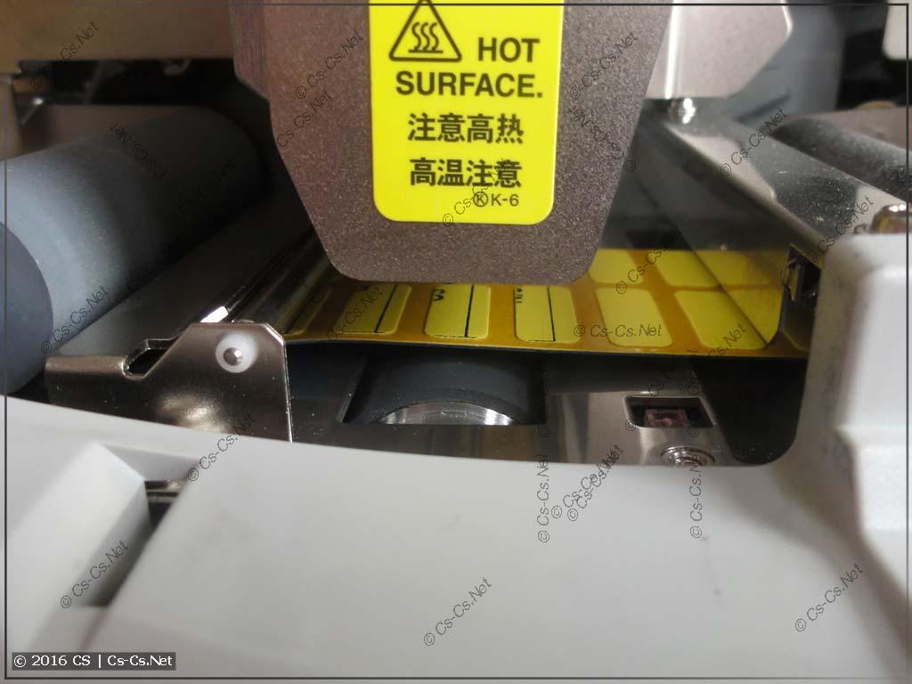Термотракт принтера ABB HTP500 (обычные этикетки)
