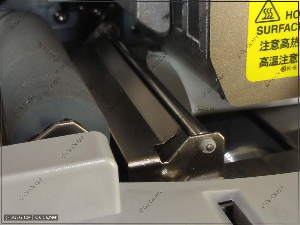 Термоусадочная трубка не приспособлена под тракт печати принтера