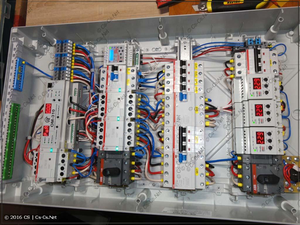 Щит ввода и автоматики IPM