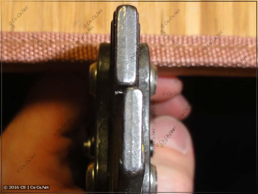 Пресс-клещи КВТ ПК-16 - расхождение губок