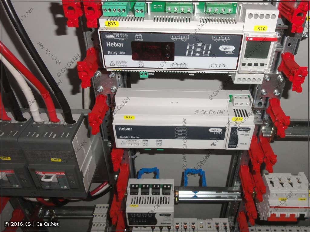 Оборудование Helvar для протокола DALI