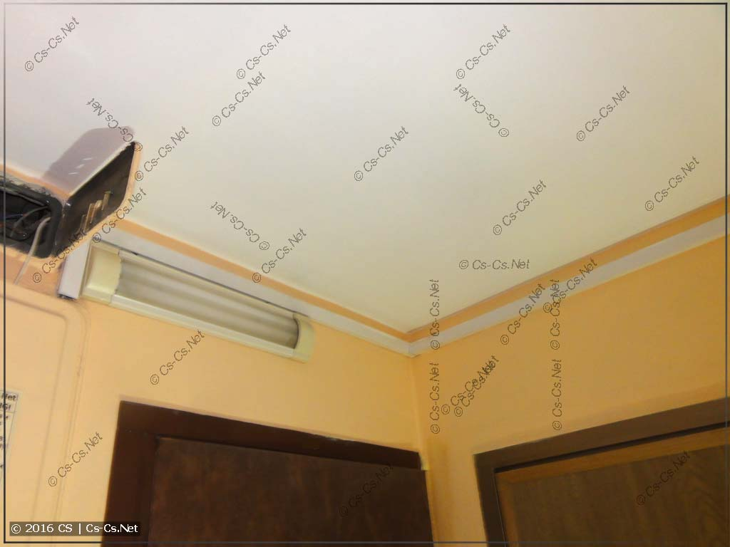 Пример прокладки короба между квартирами в II-49