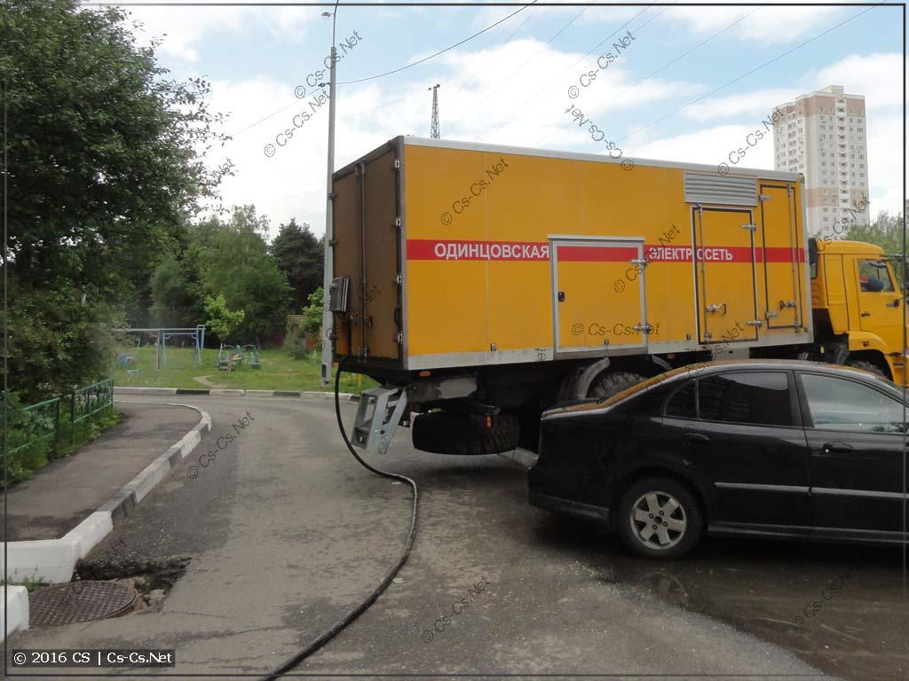 Аварийный генератор