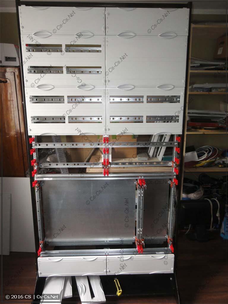 Стапель для сборки щитов на базе EDF/WR-профилей (CombiLine)