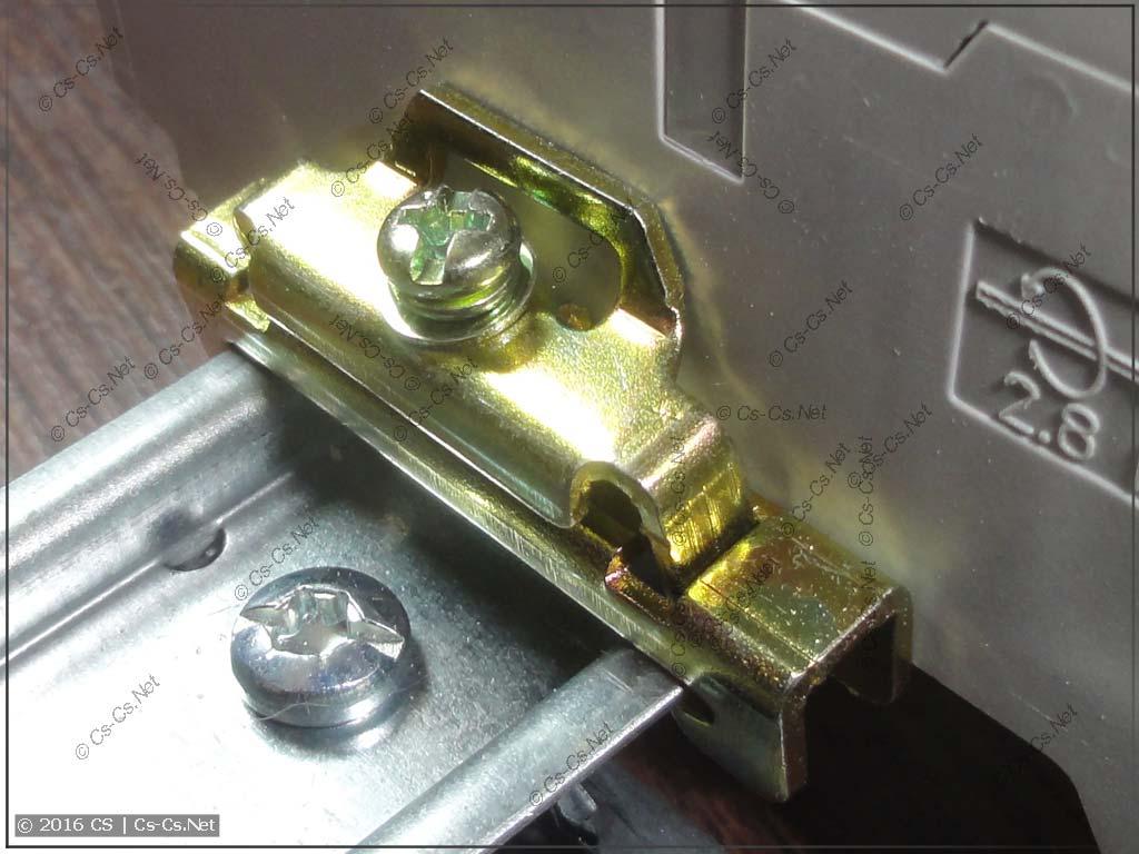 Ораничитель (фиксатор) YXD10: подготовка к затяжке
