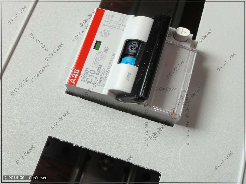 Сдвинутая модулька и отступ от края пластрона