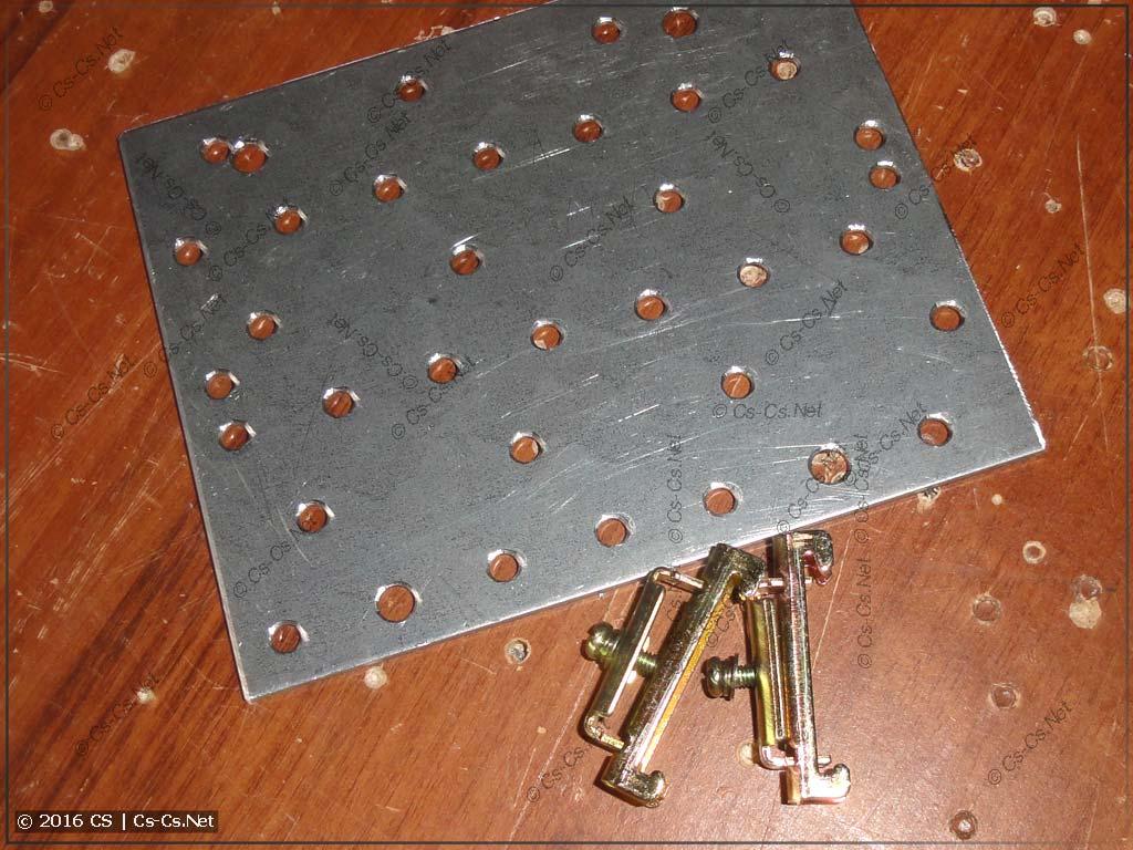 Монтажная пластина для крепления модема ОВЕН ПМ01