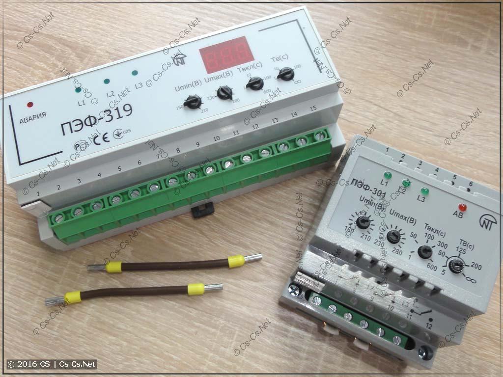 Переключатели фаз НоваТек ПЭФ-301 и ПЭФ-319