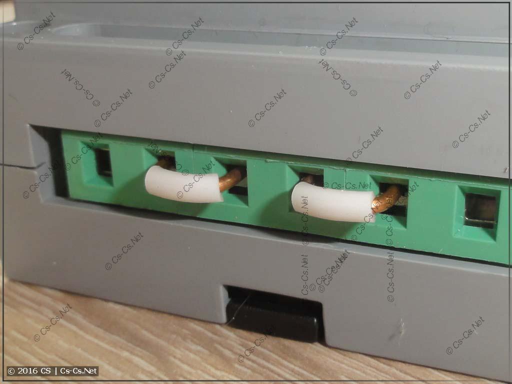 Перемычки на переключателе фаз ПЭФ-301