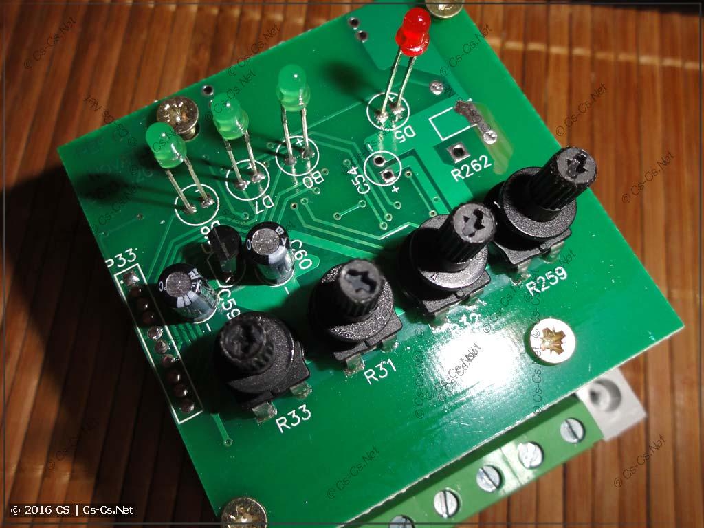 Переключатель ПЭФ-301: плата электроники