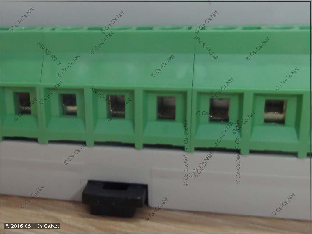 Переключатель фаз НоваТек ПЭФ-319 (клеммы подключения)
