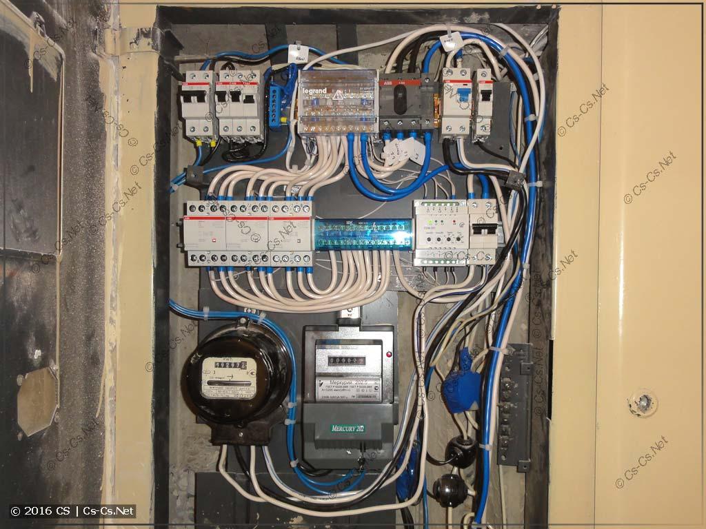 Применение ПЭФ-301 в адском этажном щитке