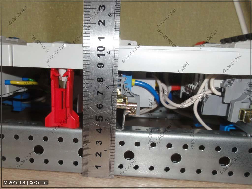 Высота панели на базе WR-рамы