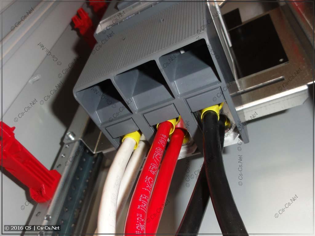 Крышка кабельных выводов автомата TMax XT