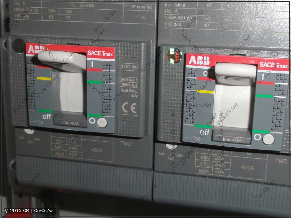 Автоматы TMax XT1 с расцепителем TMD