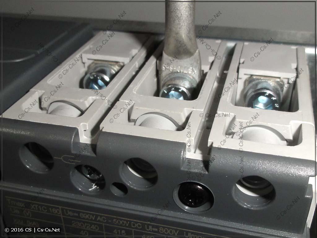 Штатные выводы автоматов TMax XT