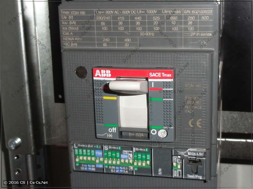 Автомат Tmax XT2 с расцепителем EKip LSI
