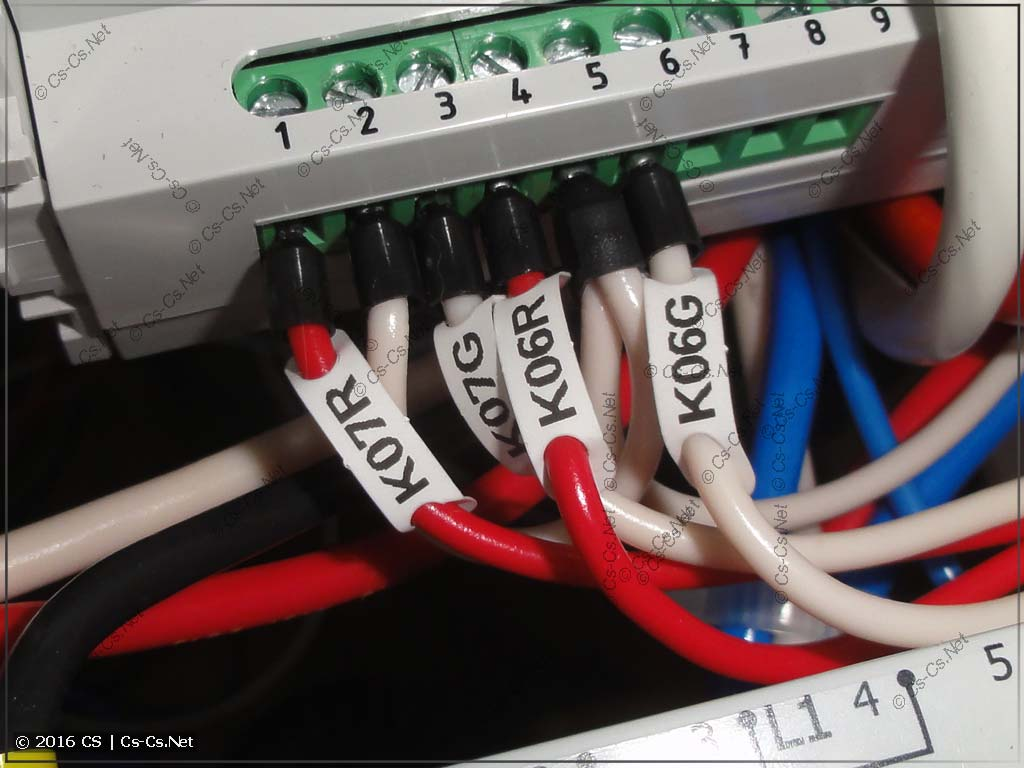 Сигналы управления контакторами для OM-310