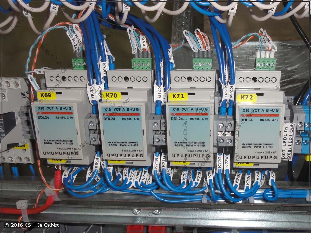 Диммеры постоянного тока DDL24
