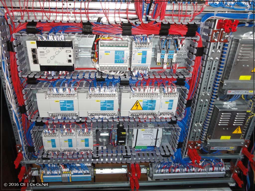 ПЛК ОВЕН и его обвязка (модули ввода-вывода)