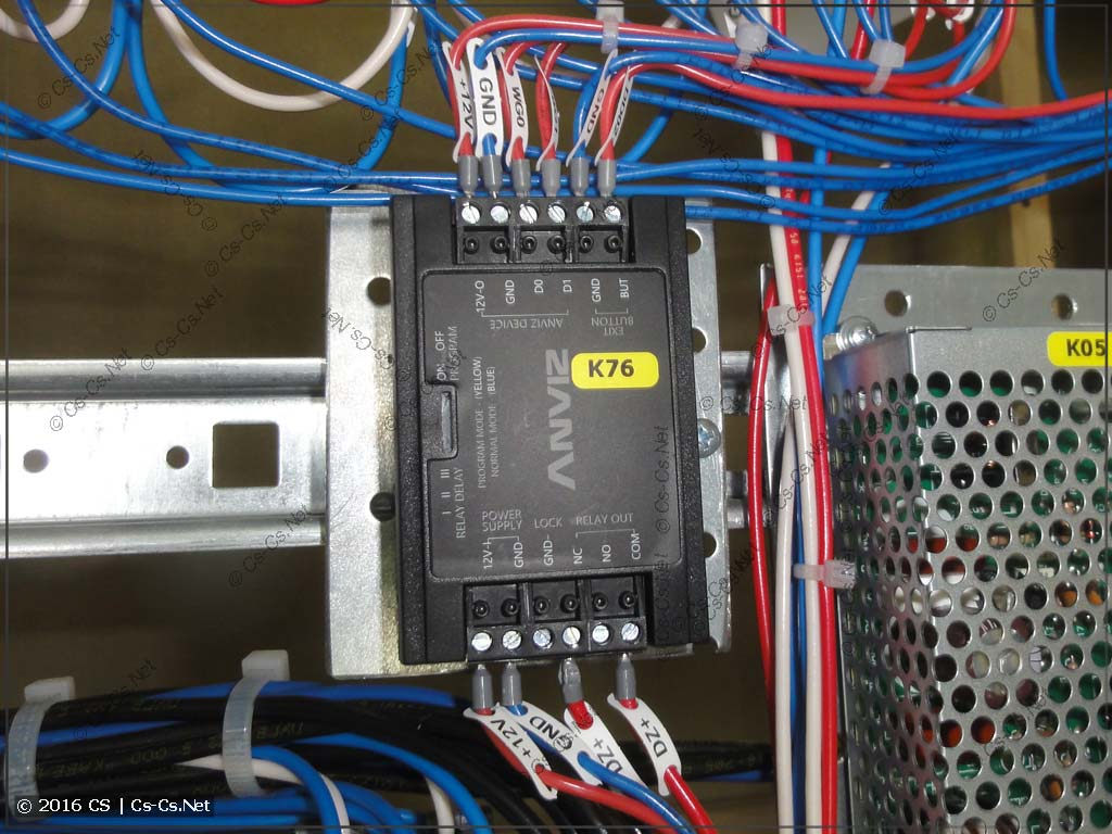 Контроллер двери ANVIZ для управления замком