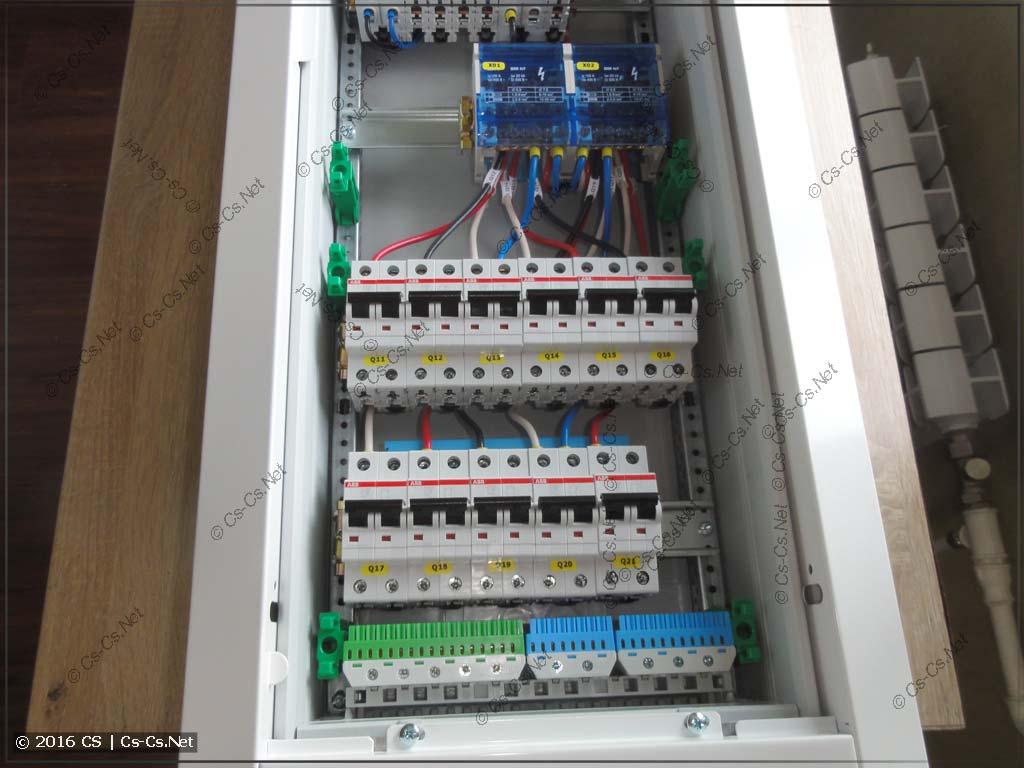 Автоматы защиты отходящих линий по бюджетной схеме