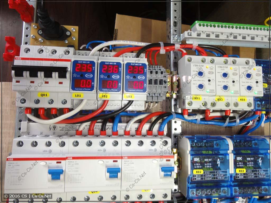 Подключение УЗМ-51м и ВАР-М01-08
