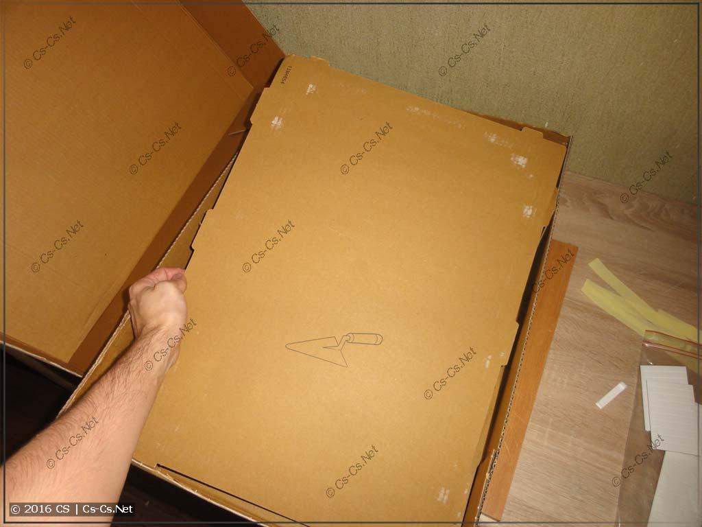 Щит ABB серии Mistral 41 (встроенный, картонка для закрытия корпуса)