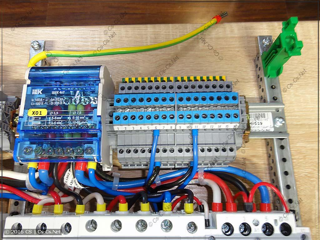 Клеммы D4/6.NLP вместо разветвительных коробок